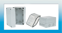 Medium Enclosures made of Polycarbonate or ABS