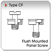 Type CF - Flush-Mounted Panel Screw